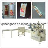 Na máquina de embalagem de borda para Biscoitos