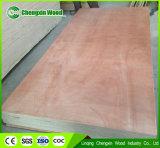 madera contrachapada barata de la madera contrachapada comercial de 1220*2440*12m m para la venta