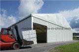 Cobertizo de almacenamiento de aluminio carpa almacén temporal