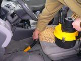 携帯用車のインフレーター(HL-303)が付いている乾湿両方の掃除機