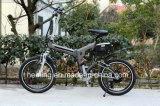"""20 """"折る電気バイクか自転車またはスクーター"""