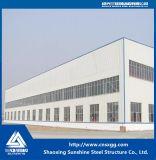 Gruppo di lavoro industriale prefabbricato della struttura d'acciaio di basso costo con il fascio di H