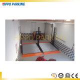 Système automatique hydraulique en gros de stationnement de véhicule de deux postes