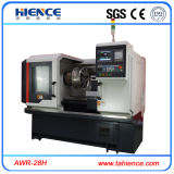 縁Awr28hを修理するための水平の合金の車輪CNCの旋盤機械