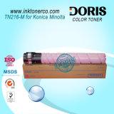 El polvo de tóner de color TN216 copiadora para Konica Minolta Bizhub C220 C280 C360 de componentes de la copiadora