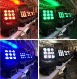 Punkt-bewegliches Hauptlicht des Fabrik-Großhandelsdisco-Stadiums-9LEDs 10W RGBW 4in1 LED