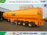 4 de Tanker van de Stookolie van het Vervoer van de Aanhangwagen van de Tank van assen