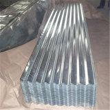 Chapa de aço ondulada galvanizada ondulada de chapa de aço para a telhadura