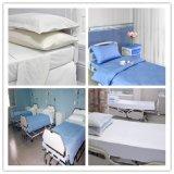 Feuille 100% de literie d'hôpital de coton de prime
