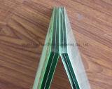 O espaço livre/coloriu/matizado endurecido/moderou o vidro de construção laminado PVB da segurança