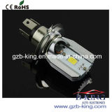 DIY 6W*2 800lm H4 LED Motorcycle Head Lamp