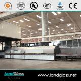 Landglass 전기 난방 로 수평한 유리제 부드럽게 하는 로