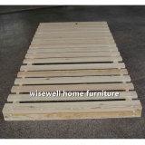 Home móveis de madeira de pinho Dobra Única cama sem colchão