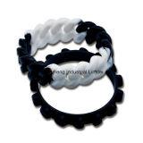 Wristband de encargo del silicio de la venta al por mayor de la pulsera del silicio de la venda de muñeca