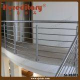 316 Railing лестницы балкона нержавеющей стали 8mm штанга (SJ-X1027)