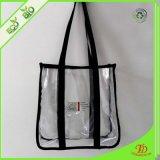 Sac à main clair de PVC de sac à main d'emballage de sac à provisions