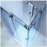 De vierkante Eenheid van de Hoek van de Douche met de Dubbele Glijdende Deur van het Glas (HF-005)