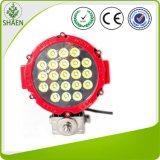 Luz de conducción roja del trabajo de la carrocería 63W LED