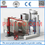 Automatic profissional Powder Coating Booth para Fast Color Change