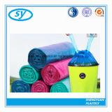 Пластичный цветастый особопрочный мешок Drawstring