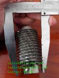 Tubo aleta de ligas de aço carbono, P235gh Steel Fin Tubo, H Hh Economizador Tubo Aleta