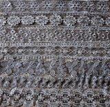 方法高品質の金糸の刺繍のレース