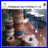 Professionnelle PVC Extrusion de bandes de chant de grain du bois, de bois de couleur de ligne de machine d'impression de bandes de chant