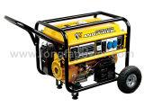 Voller kupferner Benzin-Motor-Generator des Drehstromgenerator-5kw (elektrischer Anfang mit Batterie)