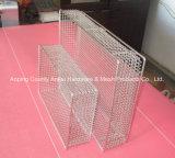 ステンレス鋼の溶接された金網のバスケット