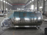 Réservoir horizontal sanitaire de refroidissement du lait d'acier inoxydable (ACE-ZNLG-5A)