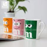 백색 바디/Decal Printing Tea Cup or Company Logo/13oz