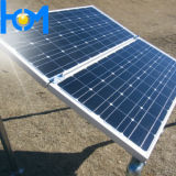 Vidro endurecido arco do painel solar com Transmittance elevado