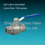 Stainless stalk Male Thread Ball faded one