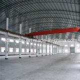 Edifício pré-fabricado de construção da construção de aço do frame da luz da extensão larga