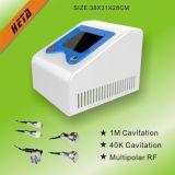 Equipo portable H-9008d del salón de belleza del RF de la cavitación del cuidado de piel 5