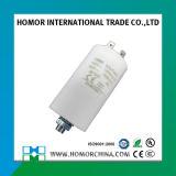 Weißer Kondensator 12.5UF 450V des Plastikfall-Cbb60