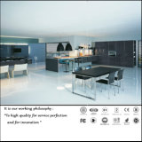 Alto armadio da cucina lucido UV moderno (ZH091)