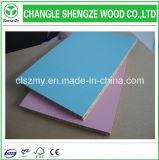 Muebles Grade 17mm Ambos lados Blue Melamine Panel de partículas / Flakeboard