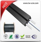 Kabel van de Optische Vezel van de Daling van de zelf-steun FTTH 2 Kern met het Lid van de Sterkte van het Staal