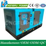 22квт 28квт мощности Cummins звуконепроницаемых дизельного генератора с электрическим регулятором