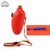 Sacchetto gonfiabile della boa di nuotata con un inarcamento del fischio per i nuotatori e Triathletes dell'acqua aperta
