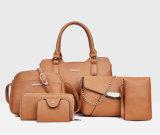 sacos de ombro ajustados do Tote das mulheres do desenhador das bolsas das senhoras da bolsa 6PCS (WDL0986)