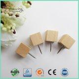 4 types Pin principal en bois de poussée de carte