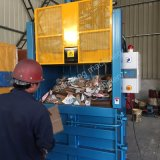 Ved40-11070/Ld Certification CE de la machine de mise en balles de rebut