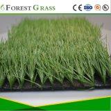 人工的な泥炭のサッカーのカーペット(STO)を見る自然な緑