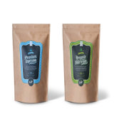 Бортовой мешки пакета кофеего бумаги Kraft Gusset выровнянные алюминиевой фольгой