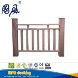 Compuesto de WPC valla de jardín al aire libre WPC Rail
