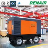 Diesel industriels vis double Portable Air machine de forage du compresseur