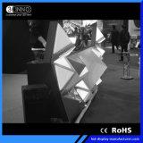 P5mm 최고는 재생율 3D 효력 LED 영상 DJ 부스를