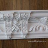 Coroa de PU Poliuretano de Moldagem Cornija Decoration Hn-80108